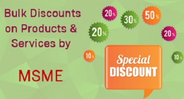 MSME bulk discounts on products and services